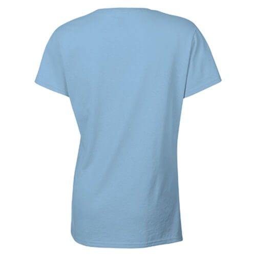 Custom Printed Gildan 2000L Ladies' Ultra Cotton Missy Fit T-Shirt - 12 - Back View | ThatShirt