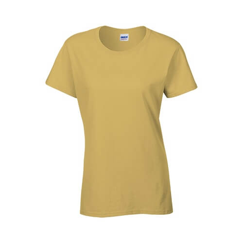 Custom Printed Gildan 2000L Ladies' Ultra Cotton Missy Fit T-Shirt - 16 - Front View | ThatShirt