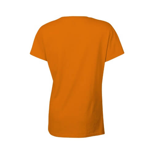 Custom Printed Gildan 2000L Ladies' Ultra Cotton Missy Fit T-Shirt - 17 - Back View | ThatShirt