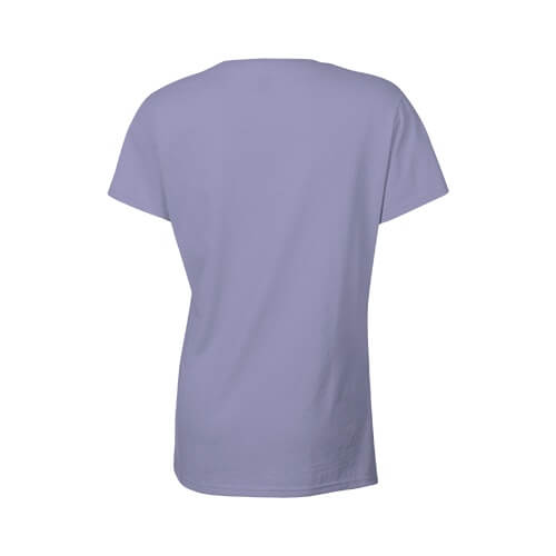 Custom Printed Gildan 2000L Ladies' Ultra Cotton Missy Fit T-Shirt - 18 - Back View | ThatShirt