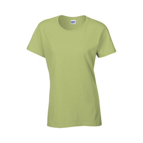 Custom Printed Gildan 2000L Ladies' Ultra Cotton Missy Fit T-Shirt - 19 - Front View | ThatShirt