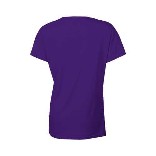 Custom Printed Gildan 2000L Ladies' Ultra Cotton Missy Fit T-Shirt - 20 - Back View | ThatShirt