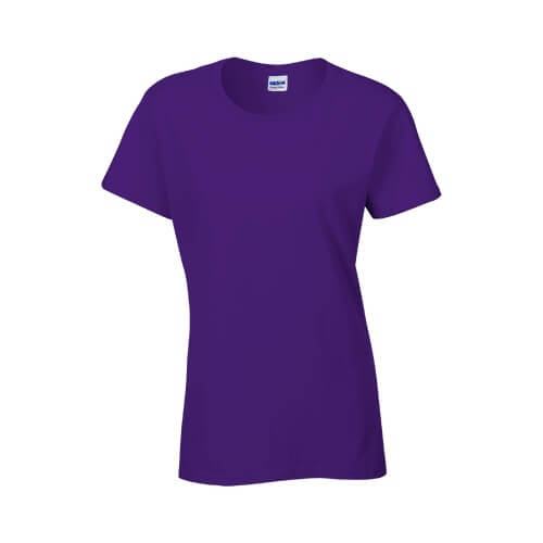 Custom Printed Gildan 2000L Ladies' Ultra Cotton Missy Fit T-Shirt - 20 - Front View | ThatShirt