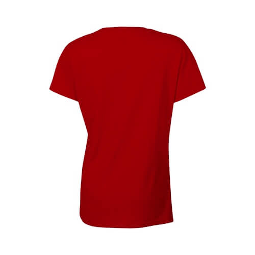 Custom Printed Gildan 2000L Ladies' Ultra Cotton Missy Fit T-Shirt - 21 - Back View | ThatShirt