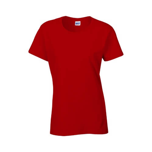 Custom Printed Gildan 2000L Ladies' Ultra Cotton Missy Fit T-Shirt - 21 - Front View | ThatShirt