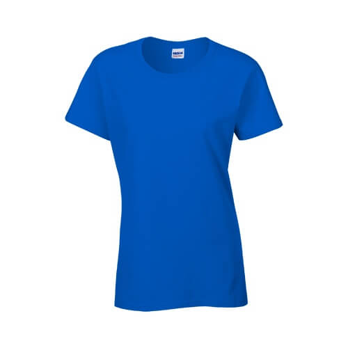 Custom Printed Gildan 2000L Ladies' Ultra Cotton Missy Fit T-Shirt - Front View | ThatShirt
