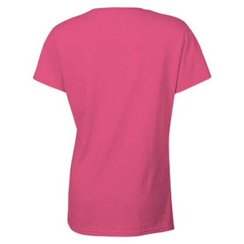 Custom Printed Gildan 2000L Ladies' Ultra Cotton Missy Fit T-Shirt - 24 - Back View | ThatShirt