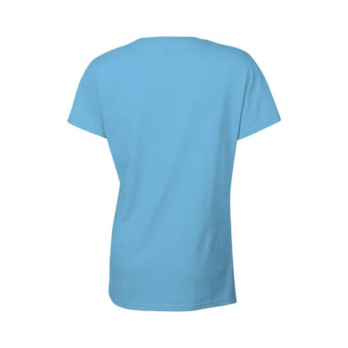 Custom Printed Gildan 2000L Ladies' Ultra Cotton Missy Fit T-Shirt - 26 - Back View | ThatShirt