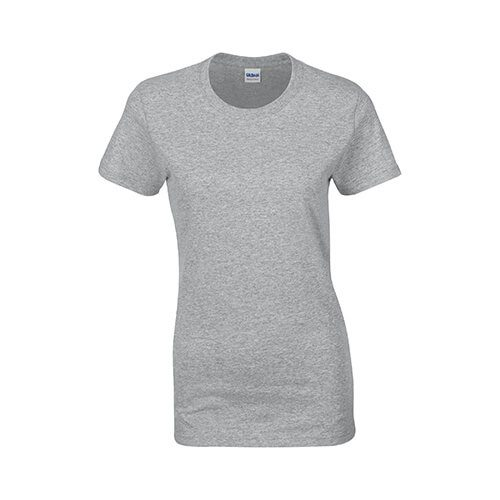 Custom Printed Gildan 2000L Ladies' Ultra Cotton Missy Fit T-Shirt - 27 - Front View | ThatShirt