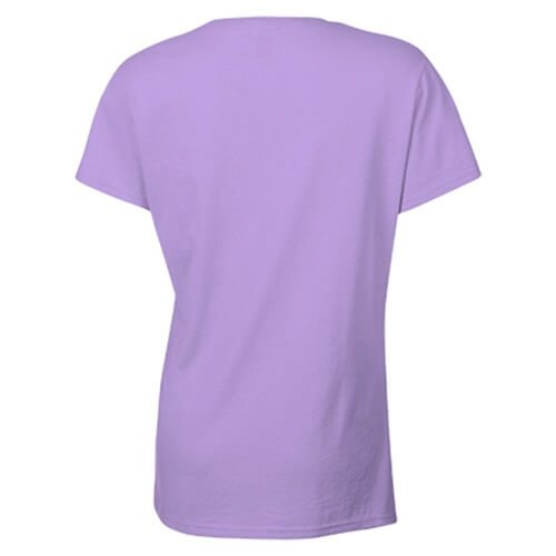 Custom Printed Gildan 2000L Ladies' Ultra Cotton Missy Fit T-Shirt - 28 - Back View | ThatShirt