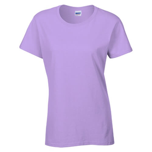 Custom Printed Gildan 2000L Ladies' Ultra Cotton Missy Fit T-Shirt - 28 - Front View | ThatShirt