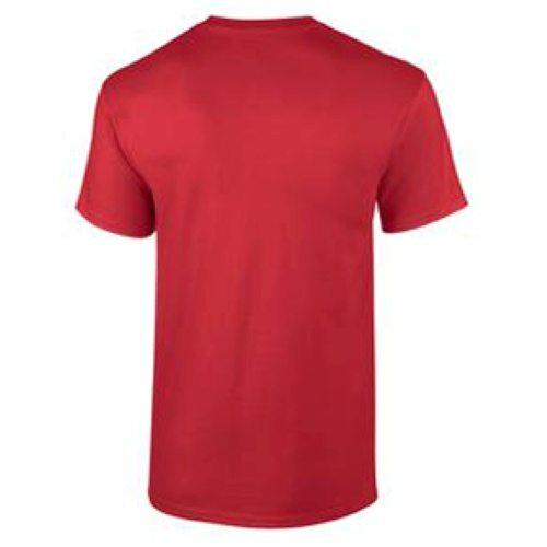 Custom Printed Gildan 2000T Ultra Cotton Tall T-shirt - 4 - Back View | ThatShirt