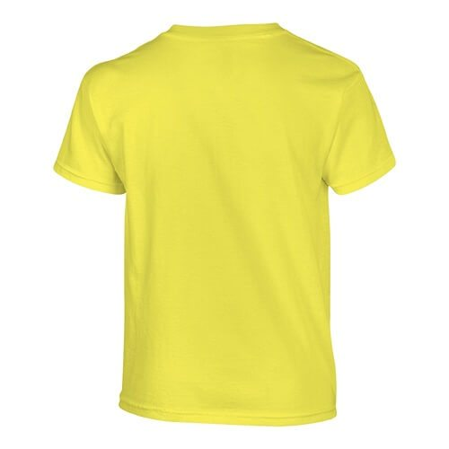 Custom Printed Gildan 200B Youth Ultra Cotton T-Shirt - 7 - Back View | ThatShirt