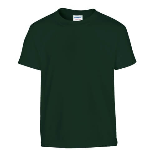 Custom Printed Gildan 200B Youth Ultra Cotton T-Shirt - Front View | ThatShirt