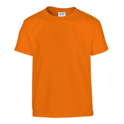 Custom Printed Gildan 200B Youth Ultra Cotton T-Shirt - 22 - Front View | ThatShirt