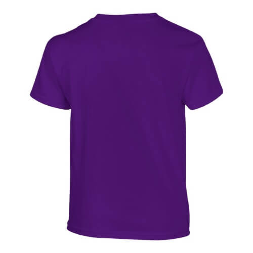 Custom Printed Gildan 200B Youth Ultra Cotton T-Shirt - 23 - Back View   ThatShirt
