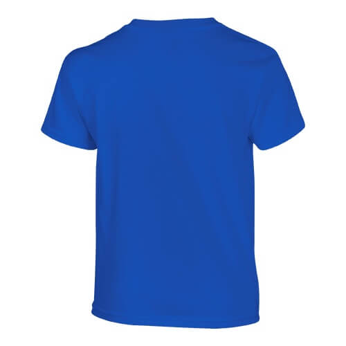 Custom Printed Gildan 200B Youth Ultra Cotton T-Shirt - 25 - Back View | ThatShirt