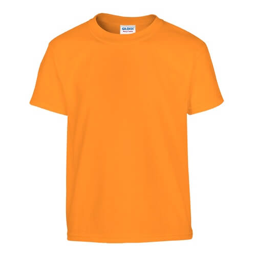 Custom Printed Gildan 200B Youth Ultra Cotton T-Shirt - 27 - Front View | ThatShirt