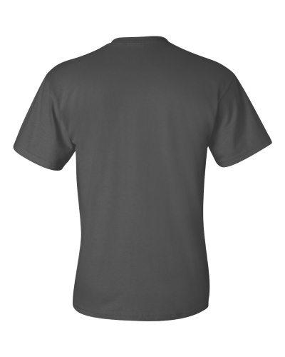 Custom Printed Gildan 2300 Ultra Cotton Pocketed T-Shirt - 3 - Back View | ThatShirt