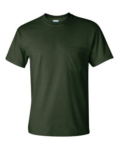 Custom Printed Gildan 2300 Ultra Cotton Pocketed T-Shirt - Front View | ThatShirt