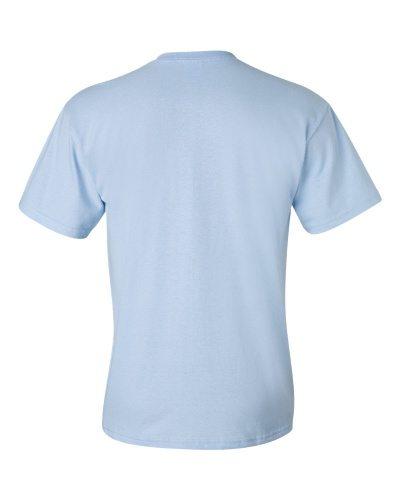 Custom Printed Gildan 2300 Ultra Cotton Pocketed T-Shirt - 5 - Back View | ThatShirt