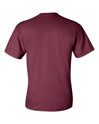 Custom Printed Gildan 2300 Ultra Cotton Pocketed T-Shirt - 6 - Back View | ThatShirt