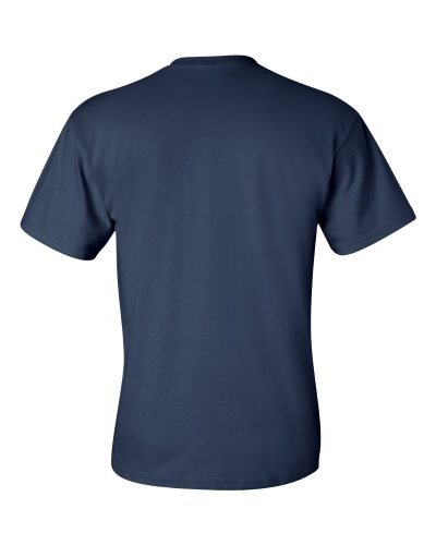 Custom Printed Gildan 2300 Ultra Cotton Pocketed T-Shirt - 7 - Back View | ThatShirt