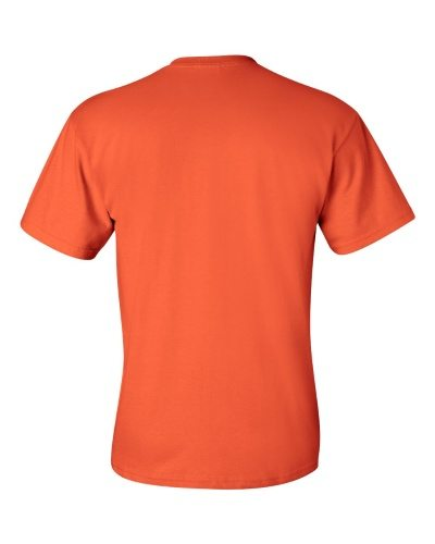 Custom Printed Gildan 2300 Ultra Cotton Pocketed T-Shirt - 8 - Back View | ThatShirt