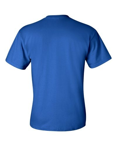 Custom Printed Gildan 2300 Ultra Cotton Pocketed T-Shirt - 10 - Back View | ThatShirt