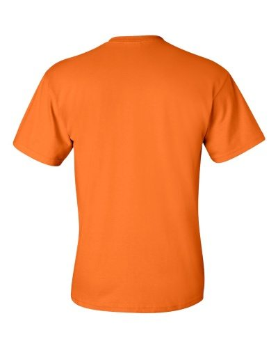 Custom Printed Gildan 2300 Ultra Cotton Pocketed T-Shirt - 11 - Back View | ThatShirt