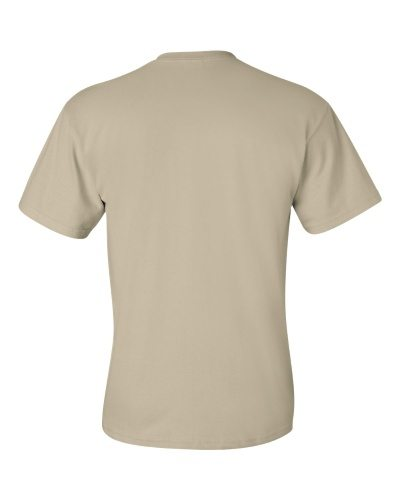 Custom Printed Gildan 2300 Ultra Cotton Pocketed T-Shirt - 12 - Back View | ThatShirt