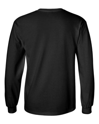 Custom Printed Gildan 2400 Ultra Cotton Long-Sleeve T-Shirt - 2 - Back View | ThatShirt