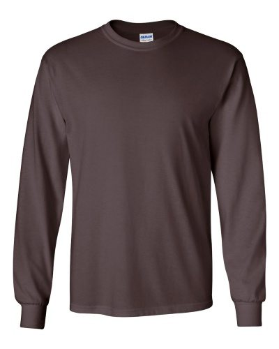 Custom Printed Gildan 2400 Ultra Cotton Long-Sleeve T-Shirt - 5 - Front View | ThatShirt