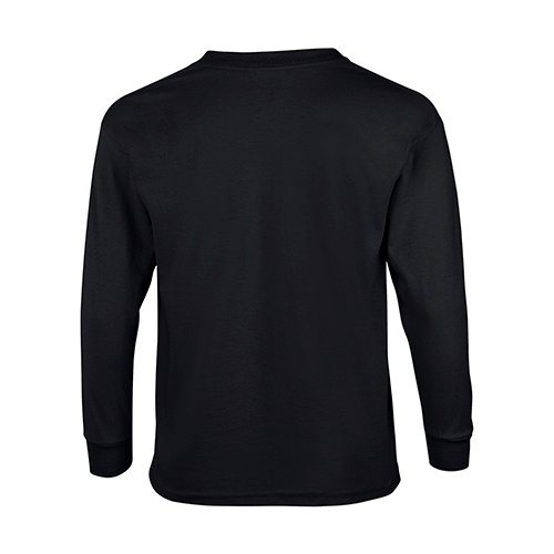 Custom Printed Gildan 240B Youth Ultra Cotton Long-Sleeve T-Shirt - 1 - Back View | ThatShirt