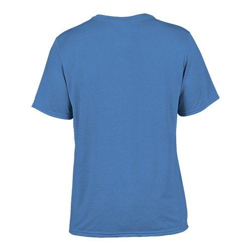 Custom Printed Gildan 42000 Performance T-shirt - 3 - Back View | ThatShirt