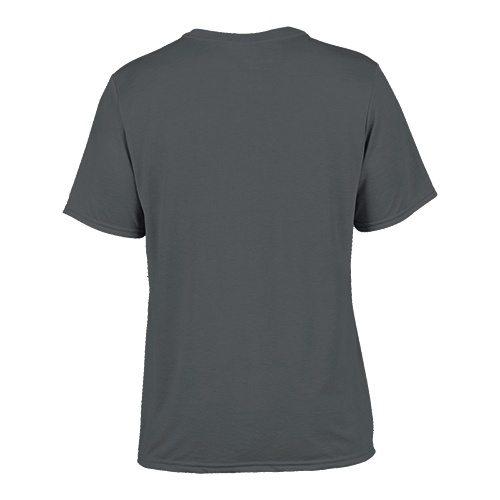 Custom Printed Gildan 42000 Performance T-shirt - 4 - Back View   ThatShirt