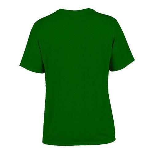 Custom Printed Gildan 42000 Performance T-shirt - 7 - Back View | ThatShirt