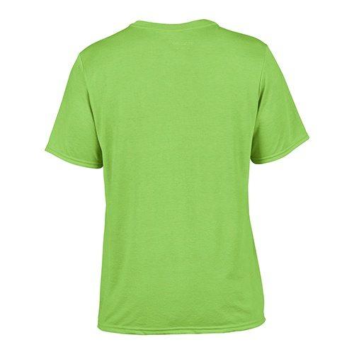 Custom Printed Gildan 42000 Performance T-shirt - 8 - Back View   ThatShirt