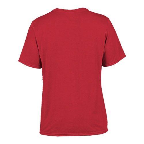 Custom Printed Gildan 42000 Performance T-shirt - 12 - Back View   ThatShirt