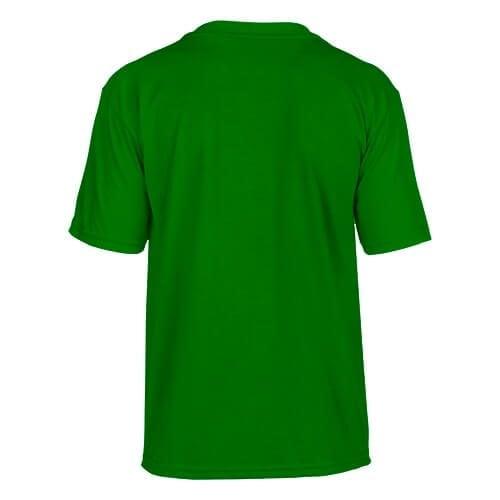 Custom Printed Gildan 42000B Youth Performance T-shirt - 5 - Back View   ThatShirt