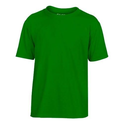 Custom Printed Gildan 42000B Youth Performance T-shirt - Front View | ThatShirt