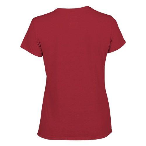 Custom Printed Gildan 42000L Ladies' Performance T-shirt - 1 - Back View | ThatShirt