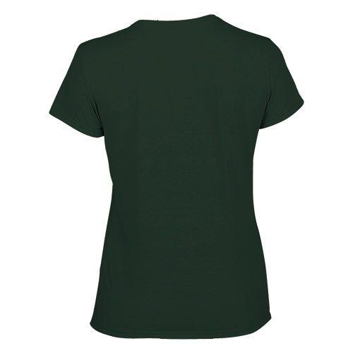 Custom Printed Gildan 42000L Ladies' Performance T-shirt - 4 - Back View | ThatShirt