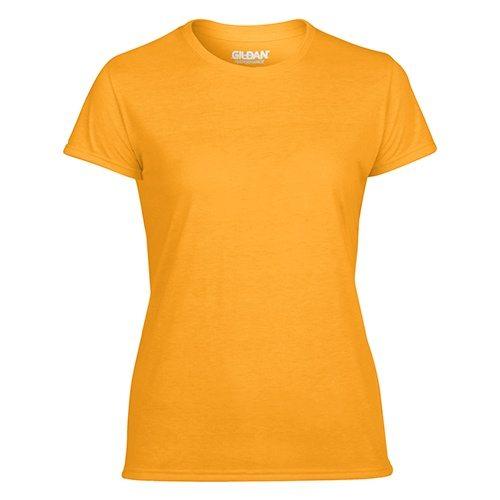 Custom Printed Gildan 42000L Ladies' Performance T-shirt - Front View | ThatShirt