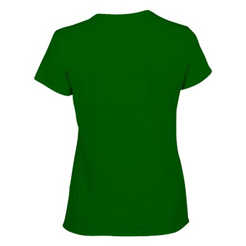 Custom Printed Gildan 42000L Ladies' Performance T-shirt - 6 - Back View | ThatShirt