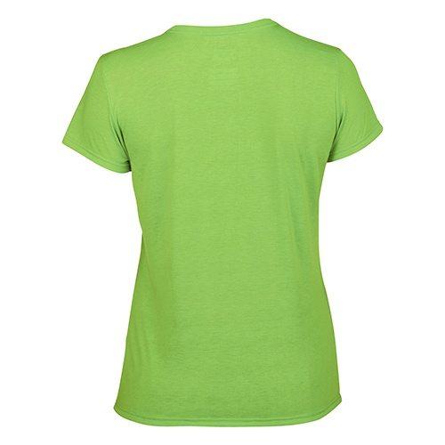 Custom Printed Gildan 42000L Ladies' Performance T-shirt - 7 - Back View | ThatShirt
