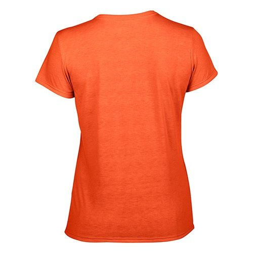 Custom Printed Gildan 42000L Ladies' Performance T-shirt - 9 - Back View | ThatShirt
