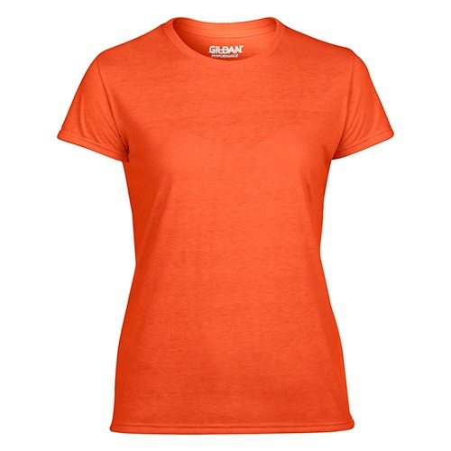 Custom Printed Gildan 42000L Ladies' Performance T-shirt - Front View | ThatShirt
