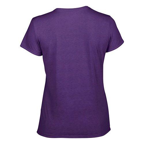 Custom Printed Gildan 42000L Ladies' Performance T-shirt - 10 - Back View | ThatShirt