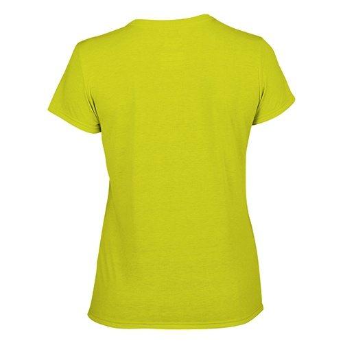 Custom Printed Gildan 42000L Ladies' Performance T-shirt - 13 - Back View | ThatShirt